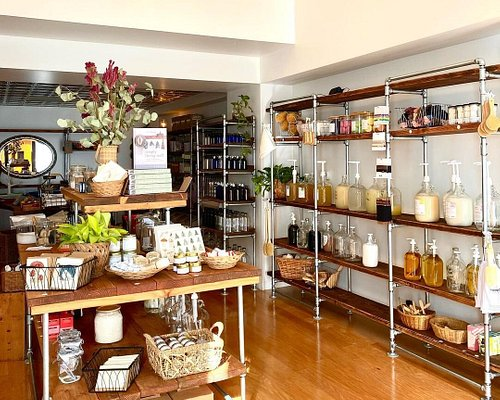 Inside the zero waste store of Anaheim, CA in the historic Packing District!