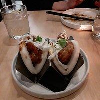 Crispy Shrip Bao Buns - perfectly spiced