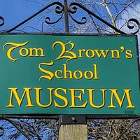 Signage for Tom Brown's School Museum