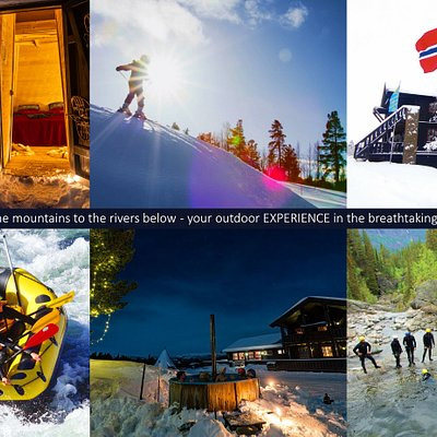 From the peaks of the mountains to the rivers below - your outdoor EXPERIENCE in the breathtaking norwegian nature...