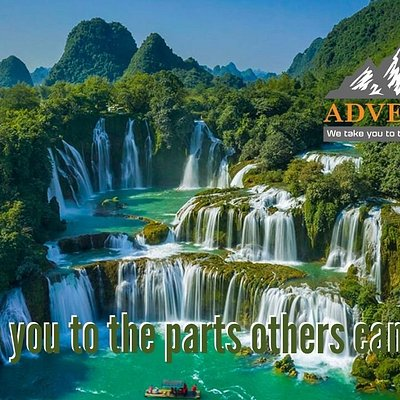 Ban Gioc waterfall, Vietnam final frontier