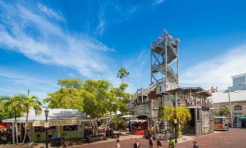 Key West Shipwreck Treasure Museum in Mallory Square.