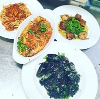 A selection of dishes.