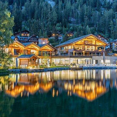 Lac alpin de Champex (VS) en été