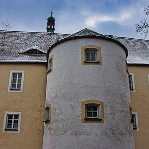 Kirchenburg Kötzting - Rundturm am Schloss