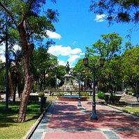 Plaza Pringles (San Luis).