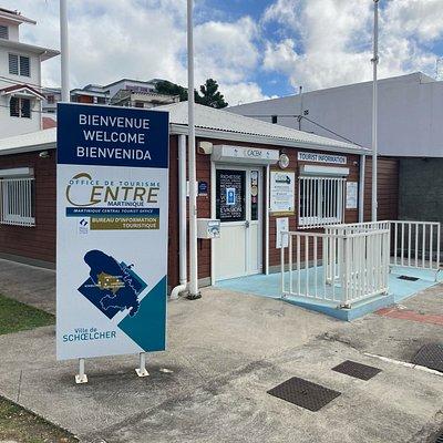 Notre Bureau d'Information Touristique situé sur le Boulevard du Bord de Mer de Schoelcher