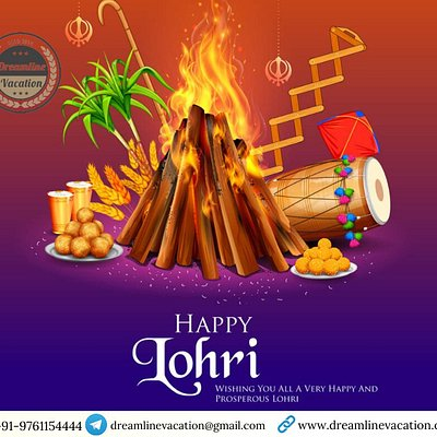 *May your year be just as colourful and joyful as the festival of Lohri. Wish you a very happy Lohri!