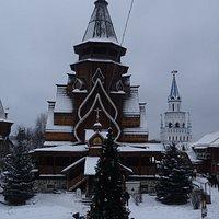Москва, Кремль в Измайлово, храм Святителя Николая в Измайлове (9 января 2021 года)