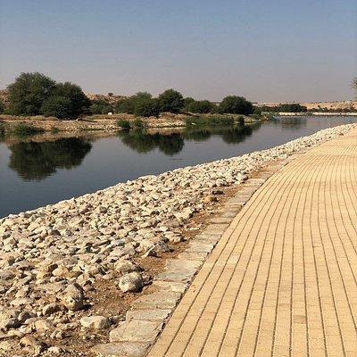 هو مشروع سياحي وترفيهي جنوب وادي حنيفة عبارة عن مساحات خضراء وبحيرات وجلسات متعددة ويتوفر أماكن للشواء ودورات مياة