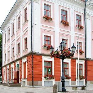 Tartu Visitor Centre at Tartu Town Hall.