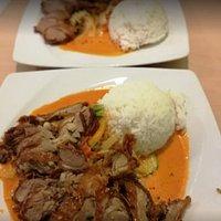 Curry Ente mit Gemüse. Super lecker!!!