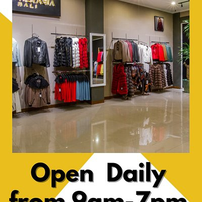 We are OPEN every day from 9am to 7 pm.  When is your favourite time to go shopping?   Tell us in the comments below 🤗🤗  Leather Jackets, Bags, Belts and Accessories available at our Leather Factory Showroom ...  Find us at the pinned location  DM us for more info ℹ️