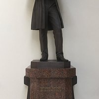 Памятник Ф.А. фон Герстнеру, Световой зал, Витебский вокзал.