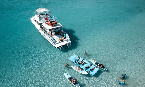 Icacos island beach boat tour