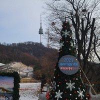 Hanyangdoseong Historic Site Museum in winter