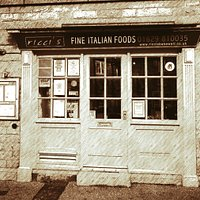 This photo is shown in a vintage style to reflect the fact that we aim to serve genuine Italian Food, using Authentic Italian recipes,  without the modern American and British twists to them.