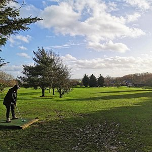 Monday 14th December 2020 We go Golf! Muddy fun time had by all at Noak Hill Golf Club for 9 holes. Scores of 91 and 38 tell the tale.