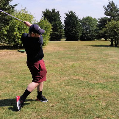 Tuesday 11th August 2020 Matt, Luke & I get 9 holes in at Noak Hill Par 3 course on another very hot day.