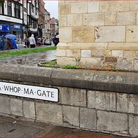 Memories … WHIP-MA-WHOP-MA-GATE. The shortest street in York!