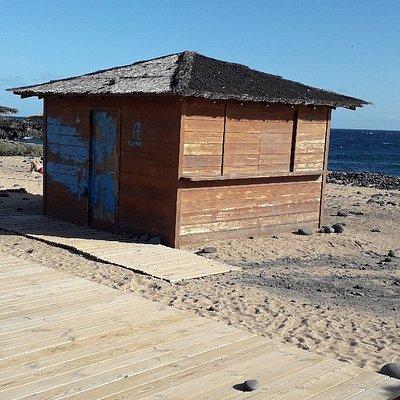 Closed Beach Bar