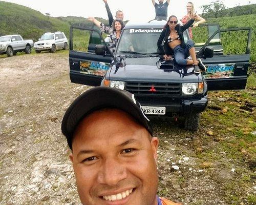 Carro 4X4, passeio a Pedreira Lagoa Azul