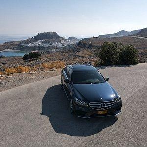Acropolis of Lindos-Taxi tour 2020 Rhodes Taxi4you!