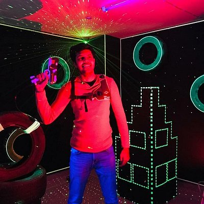 Hey!! Welcome to Delhi's best Laser Tag Arena in Hauz Khas Village, Delhi. Our team has brought a model where you play a new competitive round every time you visit us. We are highly rated on Google and we have done more than 70 private events in a span of 18 months. Dont miss the opportunity as its 50% off for the first month of January.