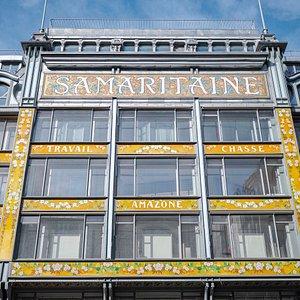 Samaritaine facade side Rue de la Monnaie