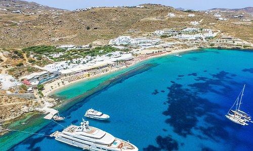 Aerial View of Paradise Beach
