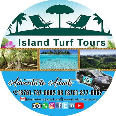 Our Island Turf Tours Private Travel/Transportation  Located in Negril, Jamaica