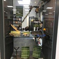 Metal detecting 'Treasure' display case