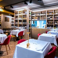 Sala Ristorante Enoteca Bruni 3 Bottiglie Gambero Rosso