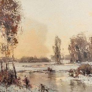 Lund's Fine Art specializes is Park City landscape by owner/artist Allen Lund