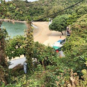 Lo So Shing Beach on Lamma Island