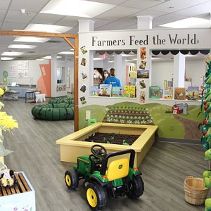 Our Apiary & Farm exhibit was introduced in fall 2020. Learn how essential bees are to our food in this interactive space!
