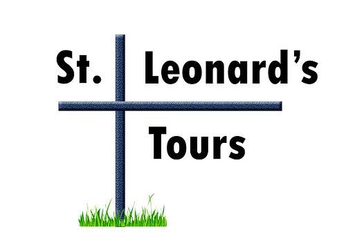 St Leonard's Tours logo.
