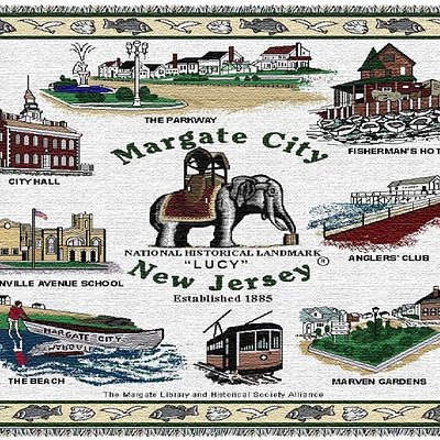 History of Margate on a warm, cosy blanket.