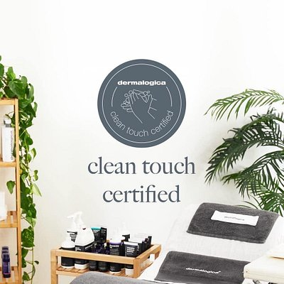 It's all about ME is a Clean Touch Certified Spa. We are obsessed with clean room, face masks, hand washing, and all things related!