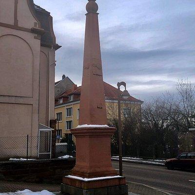 Obelisk in der Zweibrücker Strasse/Ecke Hügelstrasse