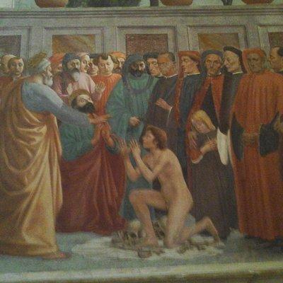 Piazza del Carmine - Basilica del Carmine - Affreschi del Masaccio