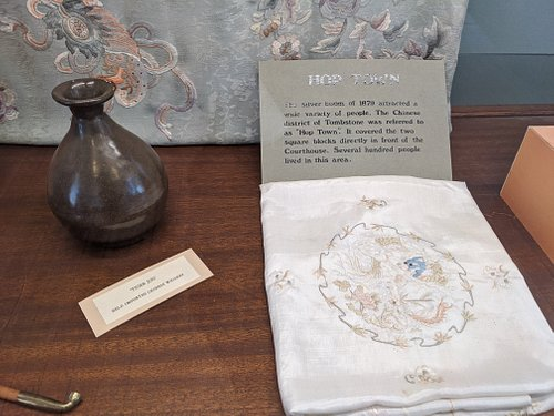 Hop Town exhibit at courthouse museum