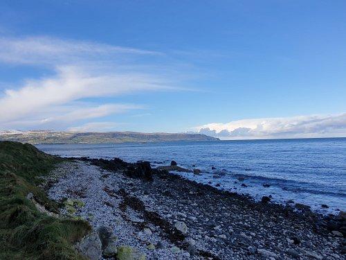 Pebbled Beach at Glenarm Coastal Walk