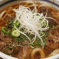 特製牛肉うどん(1160円)