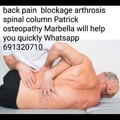 osteopathy , chiropraxia,soft manual healing via holistic therapies marbella appointment via whatsapp 691320710