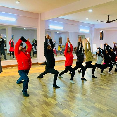 Large International Yoga Studio in Kathmandu, with 35 yoga practitioner capacity 🙏☺️