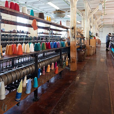 Join us for a tour of the old knitwear factory.