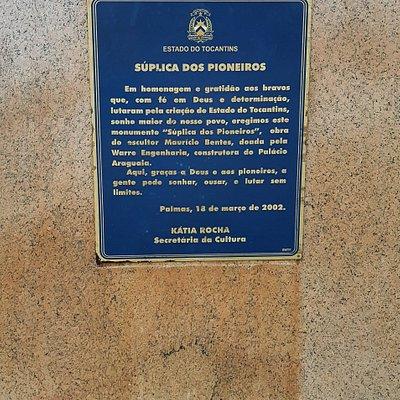 Monumento de Suplica dos Pioneiros