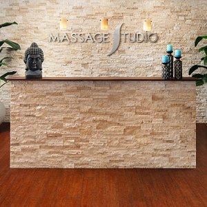 Massage Studio Reception.