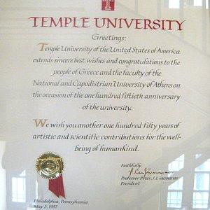 Felicitations on landmark 150th Anniversary